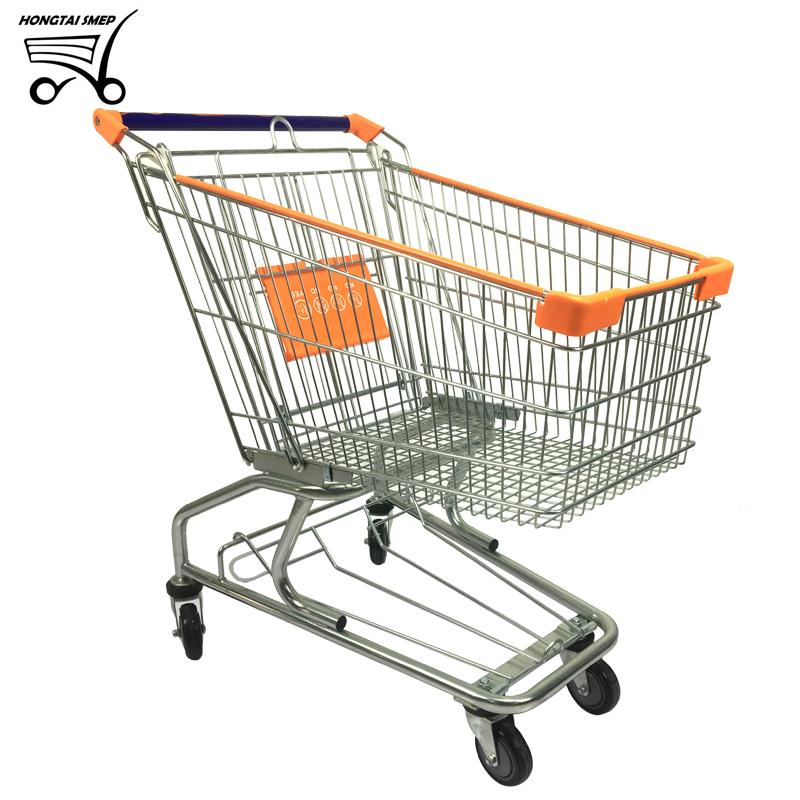 AM series 100L Supermarket Shopping Trolley